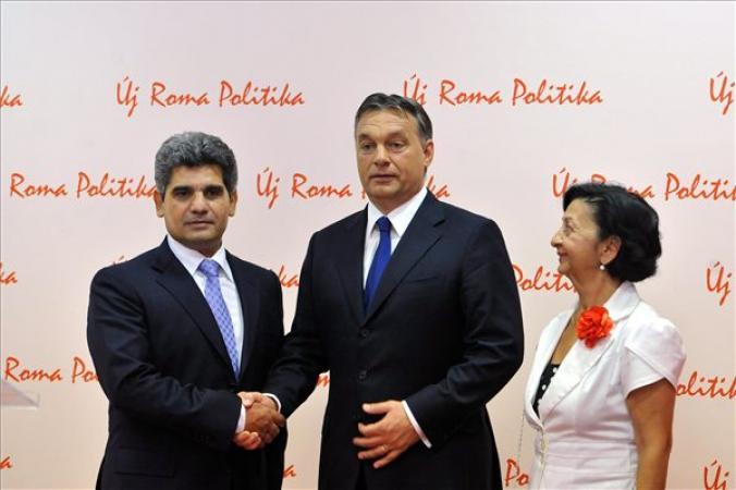 Orbán Viktor és Farkas Flórián