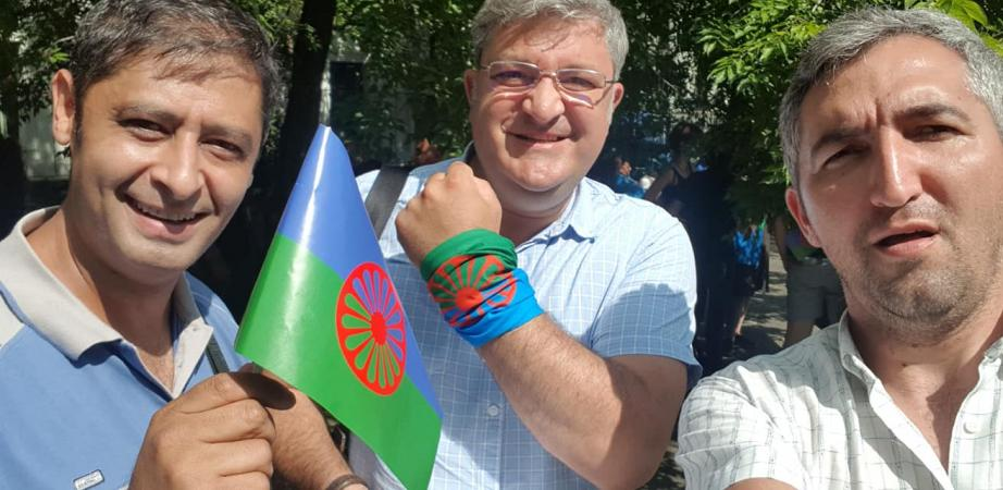 Tüntetés Bukarestben 7