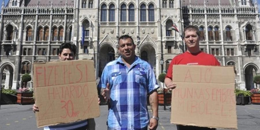 Szóvivői sajtótájékoztató a Parlament előtt