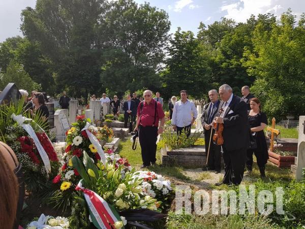 Choli Daróczi József temetése-Beke Farkas Nándor