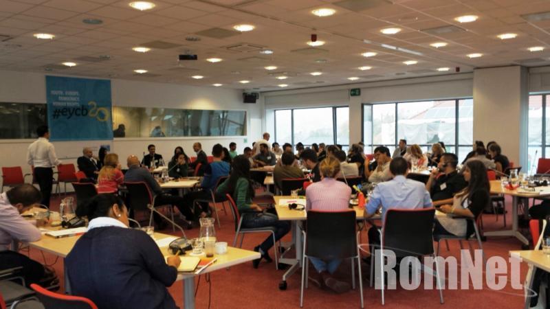 Konferencia az Európai Ifjúsági Központban
