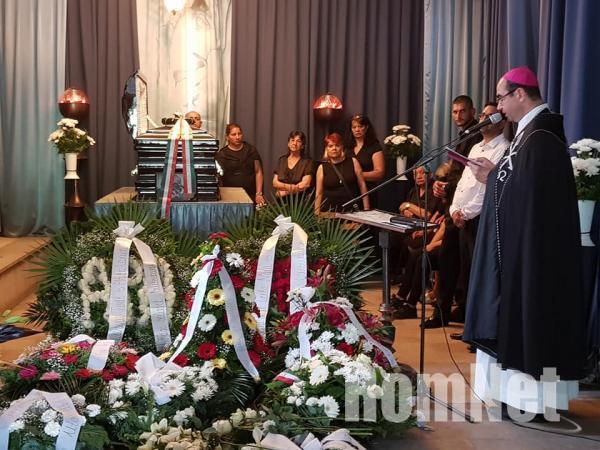 Choli Daróczi József temetése-Székely János püspök