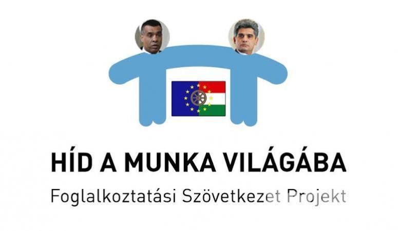 Híd a Munka világába logó-Farkas Flórián Hegedüs István