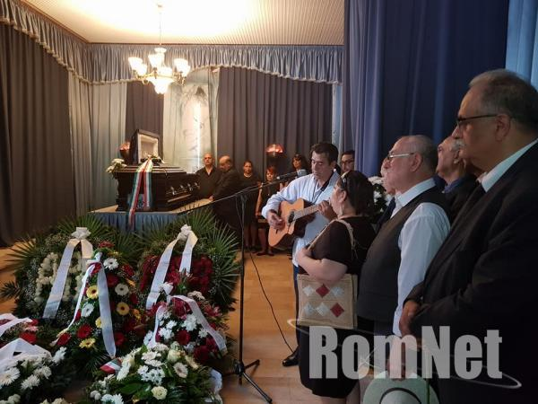 Choli Daróczi József temetése- Kalyi Jag