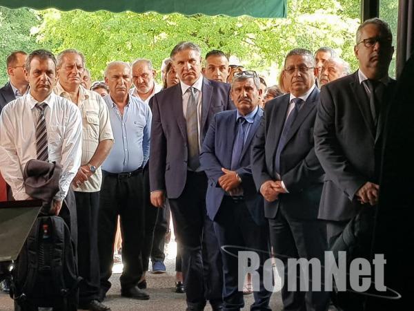 Choli Daróczi József temetése-Roma vezetők