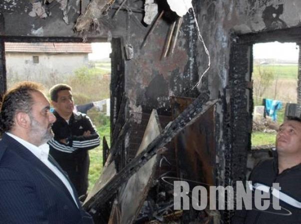 Nagycsécs - a kiégett ház